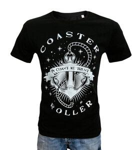 Herren T-Shirt 'Anker', T-Shirt aus Biobaumwolle - Coaster Roller