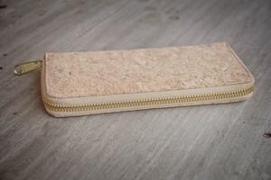 Portemonnaie - Vegan, Brieftasche aus Recycling-Kork mit Zipper - BY COPALA