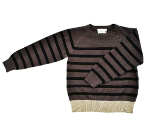 Pullover mit  schräger Knopfleiste - Fred's World by Green Cotton