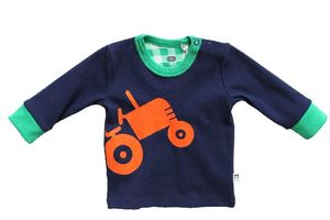 Langarmshirt mit Traktor - Fred's World by Green Cotton