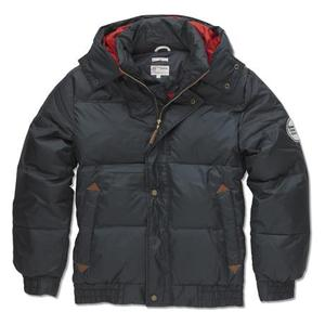 PET Goose Down Jacket Total Eclipse - KnowledgeCotton Apparel