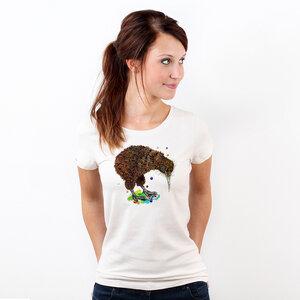 Kiwi - Printshirt Frauen aus Biobaumwolle - Coromandel