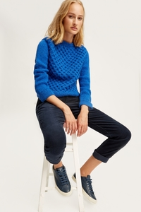 Honeycomb Jumper Blue - People Tree