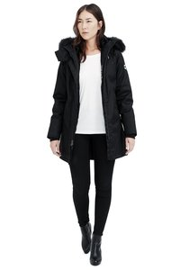 Ladies' Nordic Nightwatch Parka - Black - Hoodlamb