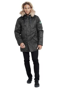 Men's Nordic Parka - Grey - Hoodlamb