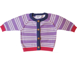 Strickjacke für Baby Mädels - Fred's World by Green Cotton