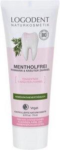Mentholfrei Zahngel  - Logona