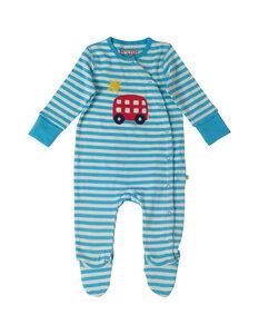 Frugi Babystrampler mit Fuß - Frugi