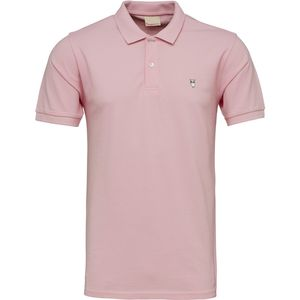 Pique Polo - Orchid Pink - KnowledgeCotton Apparel