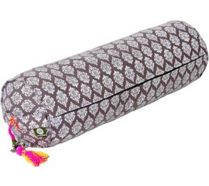 Lotus Design® Yogabolster NEU RAJA  Größe 65 x Ø 22 cm - Lotus Design®