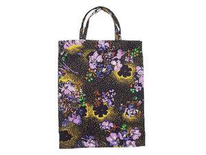 Lunch-Tasche, Mini Tasche Floral Night, Upcycling von Leesha - Leesha