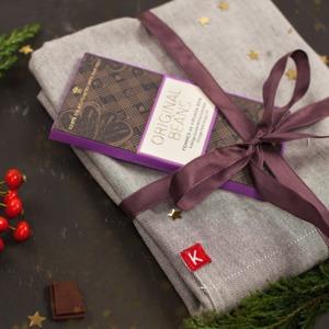 Geschenke-Set Schürze&Schoko lang - KAYA&KATO