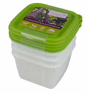 Tiefkühldosen 4er Set 0,5l - greenline