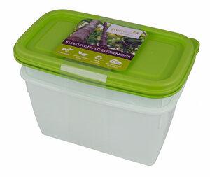 2 Tiefkühldosen 1l mit Deckel - greenline