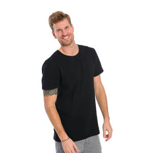 Lines T-Shirt Schwarz - bleed