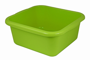 Große vegane Schüssel 12 Liter Biokunststoff - greenline