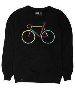 Malmoe Sweatshirt Color Bike Embroidery - DEDICATED