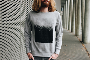 Schilf Unisex Sweater Bio & Fair _grey - ilovemixtapes