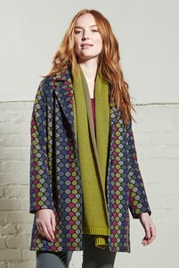 20s Style Coat - Magenta - Nomads Fair Trade Fashion
