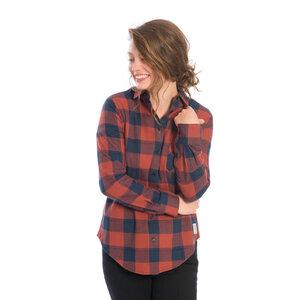 Lumberjacks Hemd Damen Rot - bleed
