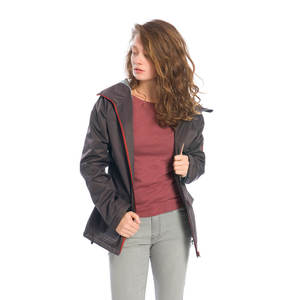 SYMPATEX Active Jacke Damen Grau - bleed