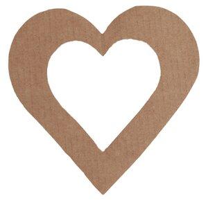 Herzen  Weihnachtsanhänger aus Cellulose  - Essential
