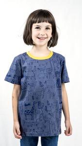 Kipepeo Nairobi Kindershirt Grau - Kipepeo-Clothing
