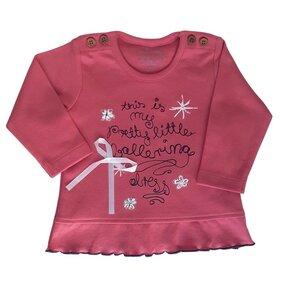 Mädchen Langarm Shirt rot Bio Baumwolle EBi & EBi - EBi & EBi