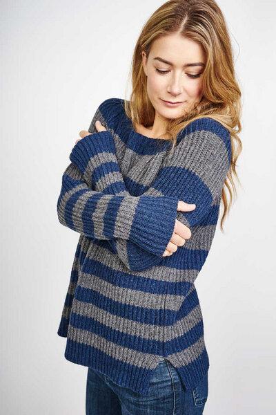 bibico orla striped wool sweater avocadostore. Black Bedroom Furniture Sets. Home Design Ideas