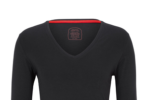 Das Langarm V-Shirt Made in Germany - Dailybread