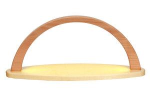 Moderner  Lichterbogen mit LED-Band leer zum Selberbestücken ideal - Drechslerei Wagner