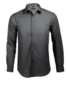 Long Sleeves Fitted Shirt Broker Men Carsten - University of Soul