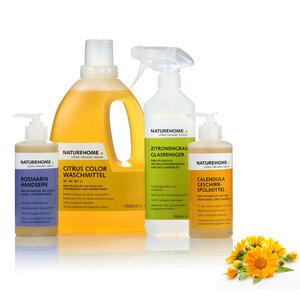 NATUREHOME Bio-Reinigungsmittel Set Vegan - NATUREHOME