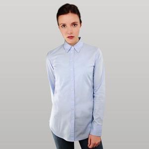 Damen Bluse hellblau von MELAWEAR - Fairtrade & GOTS zertifiziert - MELAWEAR