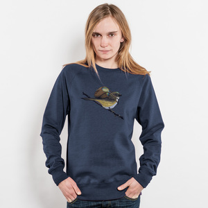 Robert Richter Save the Planet Bird Unisex Recycled Organic Sweatshirt - Nikkifaktur