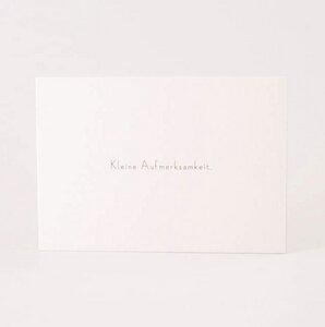 """Set mit 4 Minicards """"Kleine Aufmerksamkeit"""" - Papier Ahoi"""