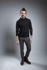 Longsleeve Kleinkariert  - jas. slow fashion