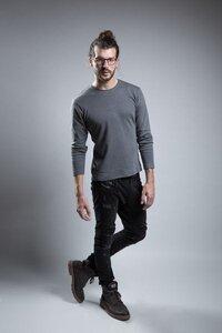 Longsleeve Grey  - jas. slow fashion