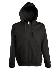 Men Hooded Zipped Jacket Pascal - University of Soul