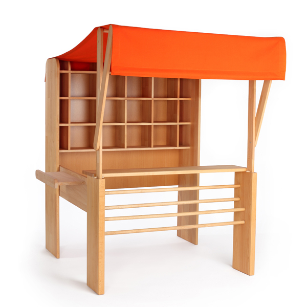 kaufladen holz zusammenklappbar. Black Bedroom Furniture Sets. Home Design Ideas