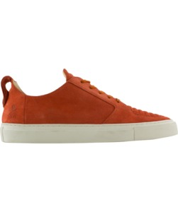 Argan Low Burned Orange Suede - ekn footwear