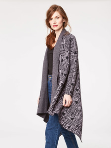 Terrace Organic Wool Knit Throw - Thought