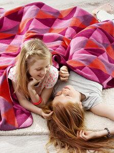 Trendige Kinder und Jugenddecke  Young & Fancy  Diamonds  150 x 200 cm  - biederlack
