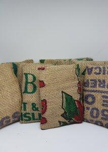 24x Säckchen für Adventskalender - aus original Kaffeesäcken - Coffee-Up!