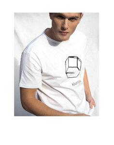Kluntje T-Shirt mit Logo in Weiß - Kluntje