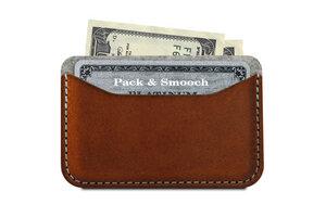 Kartenetui, Kartenmäppchen KESWICK 100% Wollfilz (Mulesing-frei), Leder - Pack & Smooch