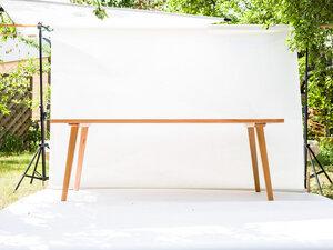 Esstisch aus Massivholz 2,00 x 1,00 m für 8 Personen - Möbelmanufaktur Potsdam