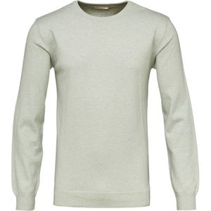 Basic O-Neck Cashmere/Cotton - Sea Creast - KnowledgeCotton Apparel