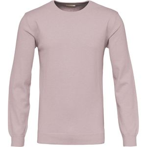 Basic O-Neck Cashmere/Cotton - Orchid Pink - KnowledgeCotton Apparel