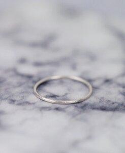"925er Silber Ring ""Thora"" 1 mm - pikfine"